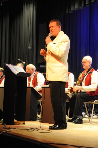 Robert Habermann with Big Band Feb 2011 image 1